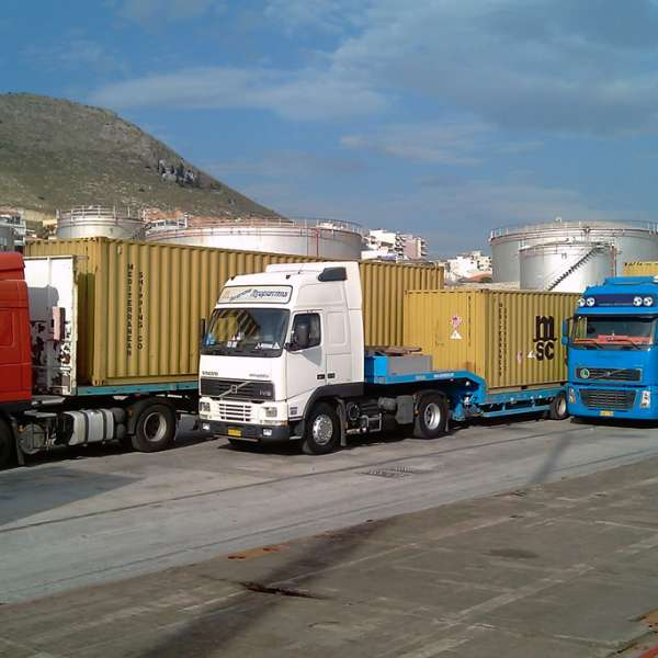 adr transports greece europe