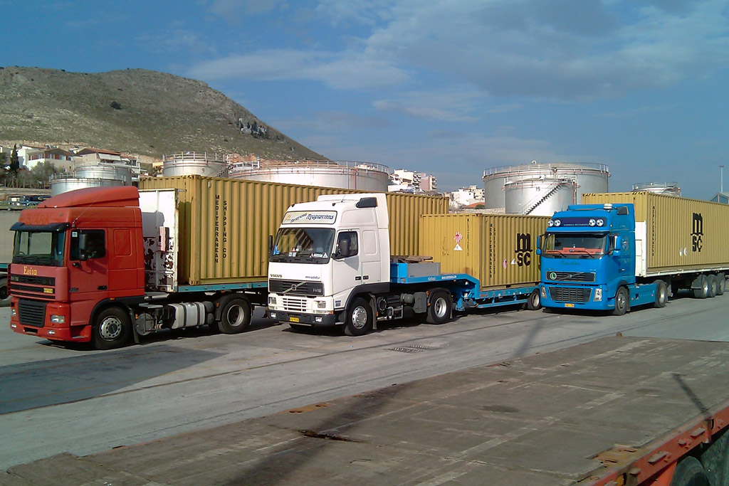 adr transports greece europe