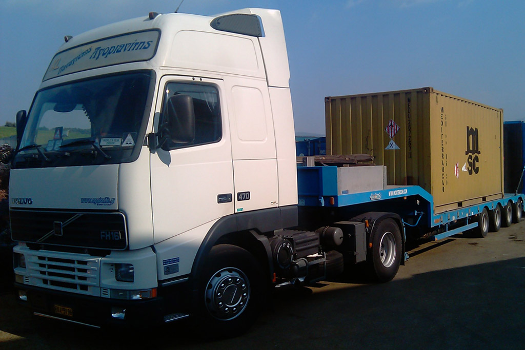 adr transports container