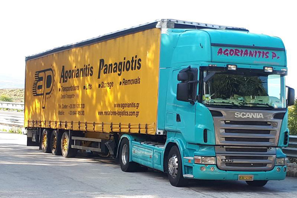 bulk goods transportation